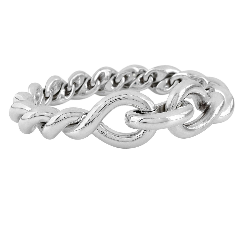Bracelet Hermès Torsade - Argent - 12847 - Mikaël Dan fe96235ebda