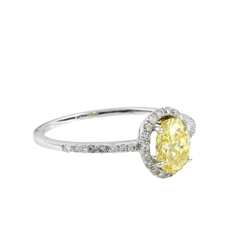 bague or blanc jaune et diamant