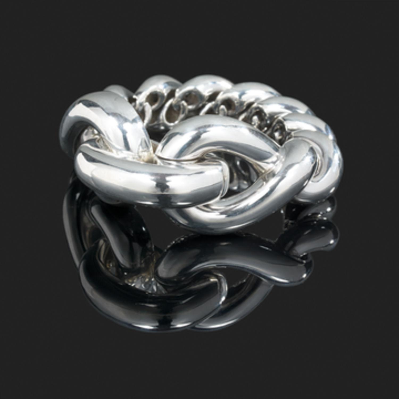 Bracelet Hermès Torsade - Argent - 8924 - Mikaël Dan e2aa69a72c2