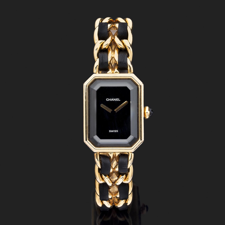 b437d3fea23b Montre Chanel Première - Métal doré - 10009 - Mikaël Dan