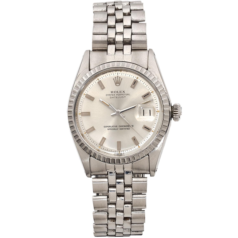 54d83aa09b3 Montre Rolex Oyster Perpetual Datejust - Acier - 11848 - Mikaël Dan