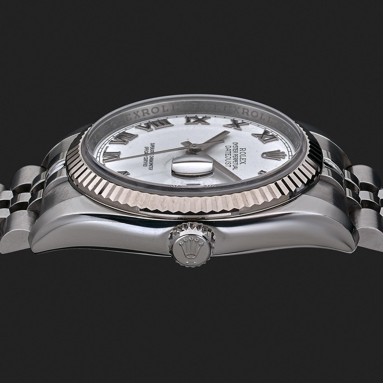19848a39326 Montre Rolex Oyster Perpetual Datejust - Acier - 12351 - Mikaël Dan