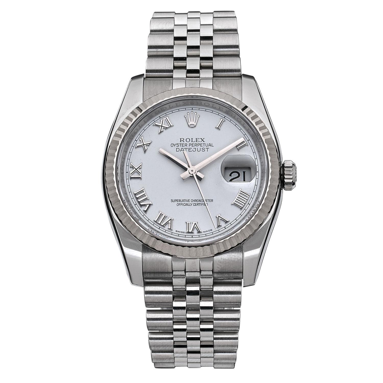 9525a9232b6 Montre Rolex Oyster Perpetual Datejust - Acier - 12351 - Mikaël Dan