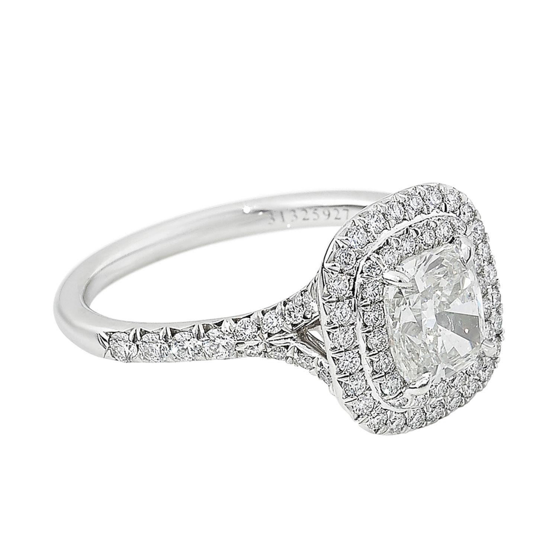 qualité supérieure incroyable sélection meilleur authentique Bague Tiffany Soleste - Platine - 12362 - Mikaël Dan
